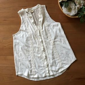 Meadow Rue White Blouse